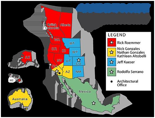 Region Service Map